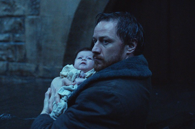 James McAvoy as Lord Asriel in His Dark Materials (BBC)