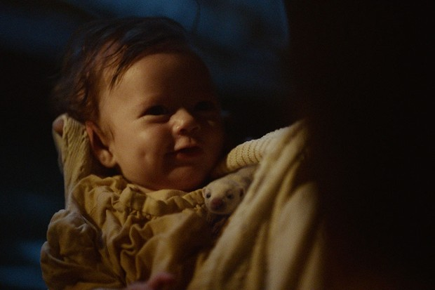 The baby Lyra Belacqua in His Dark Materials' Book of Dust flashback (BBC)