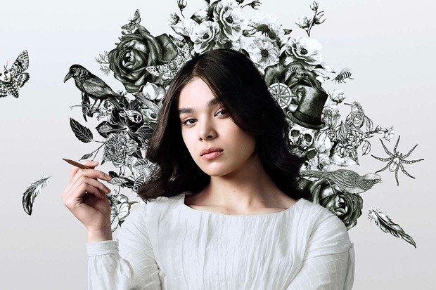 Hailee Steinfeld as Emily Dickinson in Dickinson (AppleTV +)