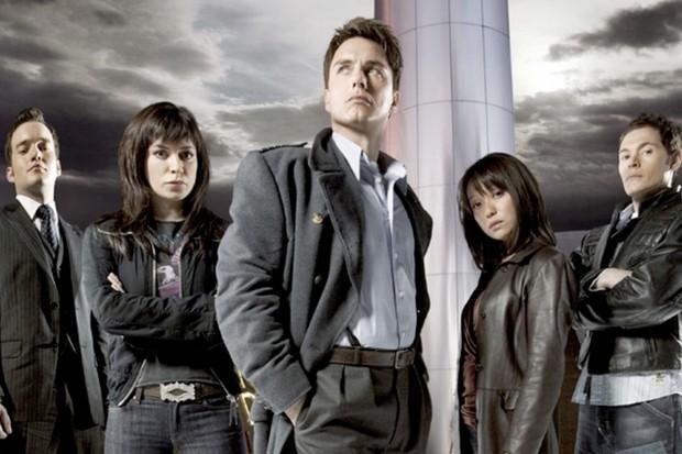 The cast of Torchwood (BBC)