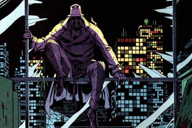 Artwork from the Watchmen graphic novel (Sky)