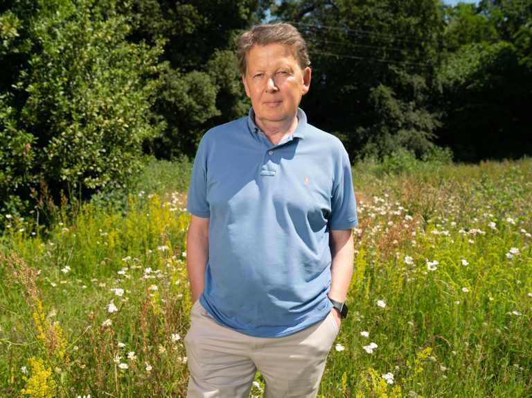 Bill Turnbull gets high on camera in bid to cure prostate cancer