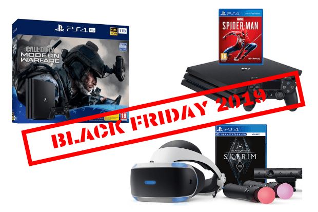PS4 4 and PS4 Pro Black Friday deals