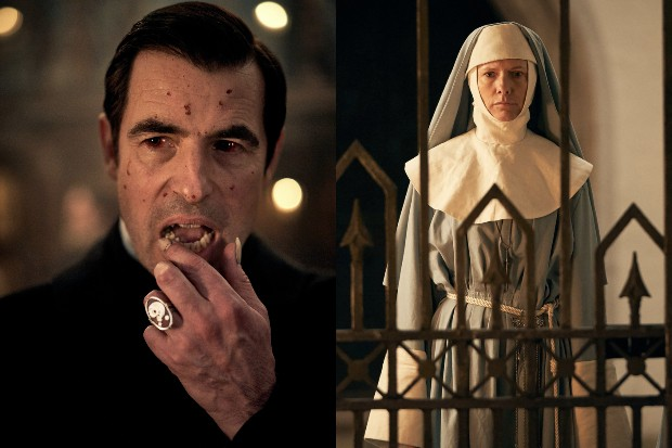 Claes Bang and Dolly Wells in the BBC's Dracula (BBC)