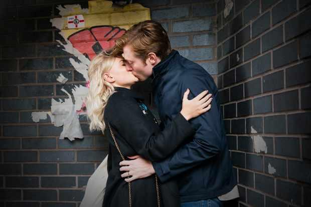 coronation street Bethany platt Daniel Osbourne kiss