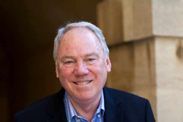 OXFORD, UNITED KINGDOM - APRIL 09:  News Broadcaster Peter Sissons poses for a portrait at the Oxford Literary Festival on April 9, 2011 in Oxford, England. (Photo by David Levenson/Getty Images)