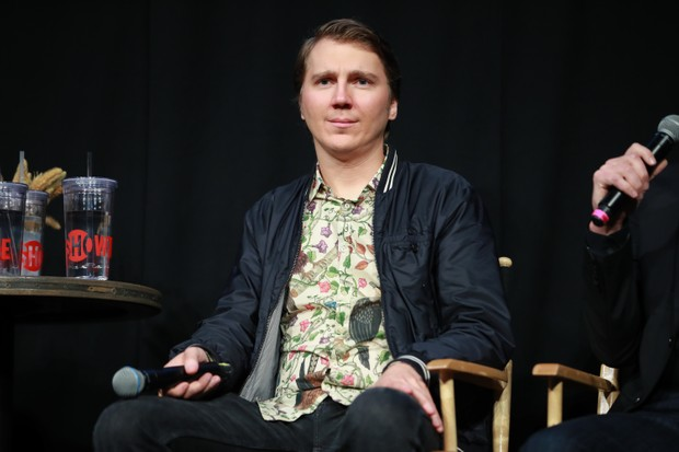 "LOS ANGELES, CALIFORNIA - JUNE 05: Paul Dano speaks onstage during the FYC event for Showtime's ""Escape At Dannemora"" at NeueHouse Hollywood on June 05, 2019 in Los Angeles, California. (Photo by Rich Fury/Getty Images)"