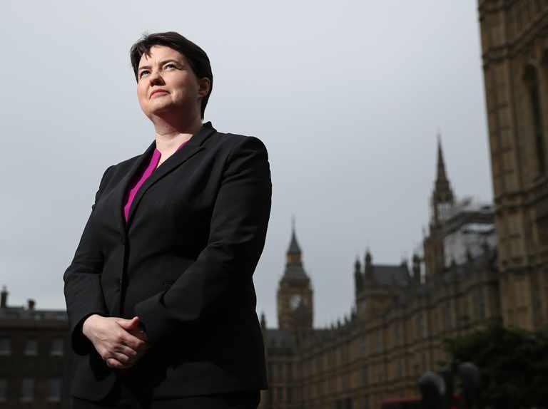 Ruth Davidson will chair ITV's Mental Health Advisory Group