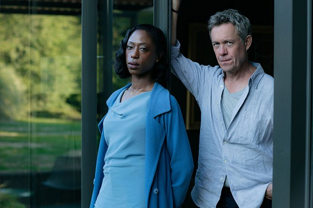 WARNING: Embargoed for publication until 00:00:01 on 05/11/2019 - Programme Name: Gold Digger - TX: 12/11/2019 - Episode: n/a (No. n/a) - Picture Shows: Marsha (NIKKI AMUKA-BIRD), Ted Day (ALEX JENNINGS) - (C) Mainstreet Pictures - Photographer: Mike Hogan