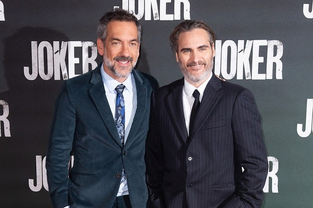 Director Todd Phillips and Joaquin Phoenix attend a special screening of upcoming film JOKER. In Cinemas 4 October.