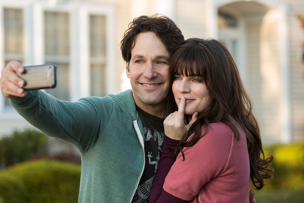 Paul Rudd and Aisling Bea in Living with Yourself (Netflix)