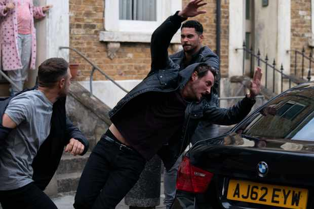 EastEnders Martin fight