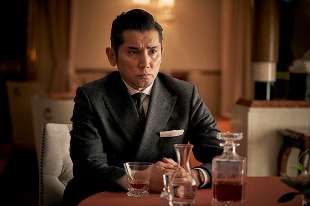 Masahiro Motoki plays Fukuhara in Giri Haji