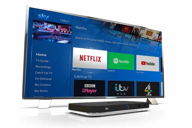 Sky Q native article – image