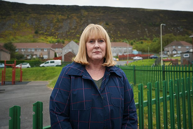 Sarah Lancashire plays Polly Bevan in The Accident