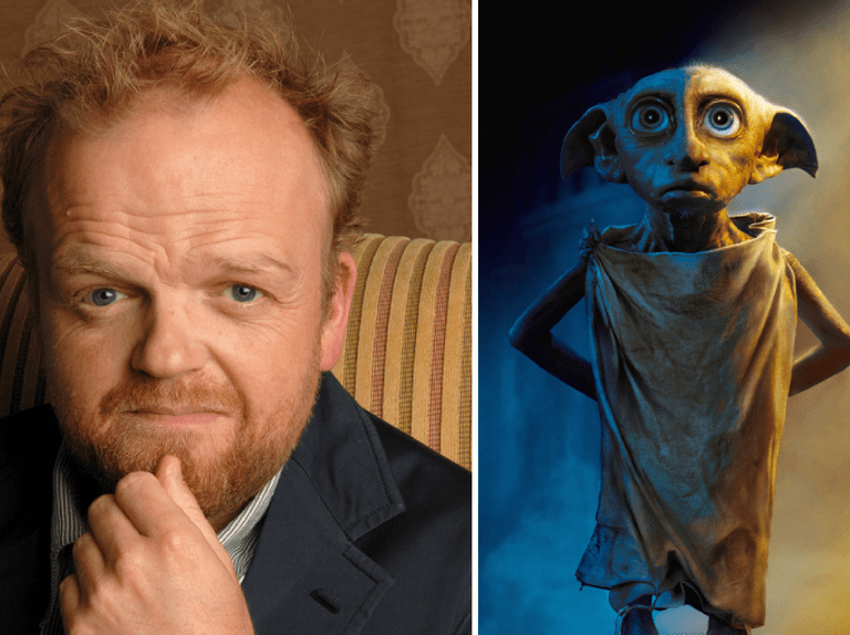 Harry Potter star Toby Jones REALLY doesn't want to do his Dobby voice for you