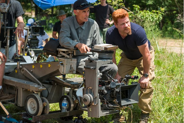 Michael Cudlitz – behind-the-scenes on The Walking Dead