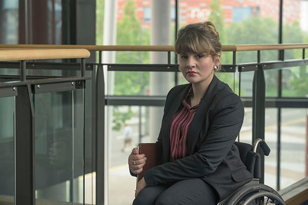 Ruth Madeley plays Laura in The Accident