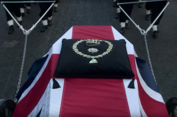 The Crown funeral