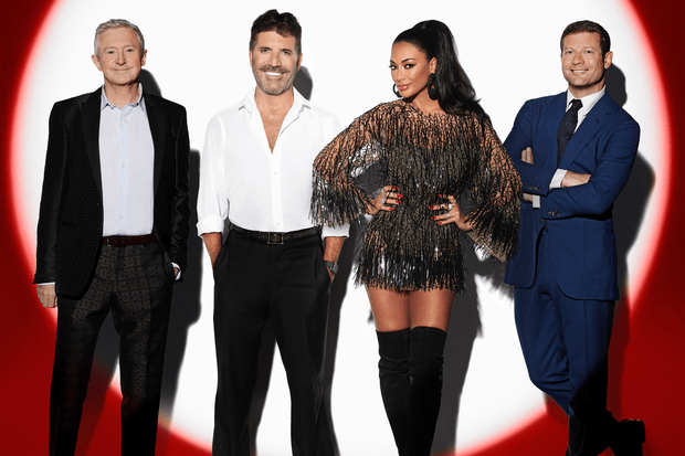 The X Factor Celebrity judges (ITV)