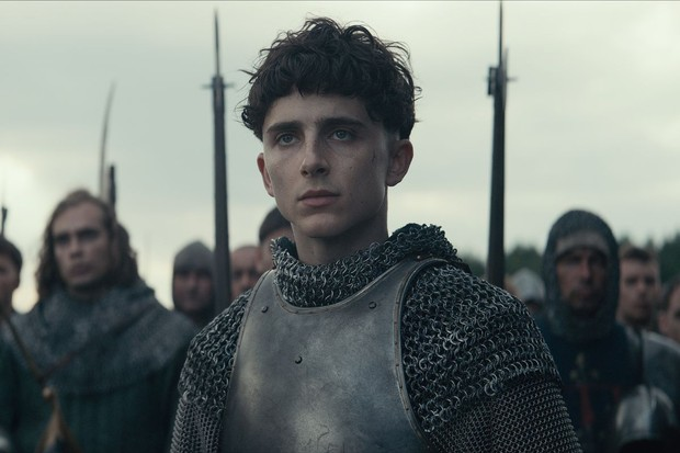 Timothée Chalamet in Netflix's The King