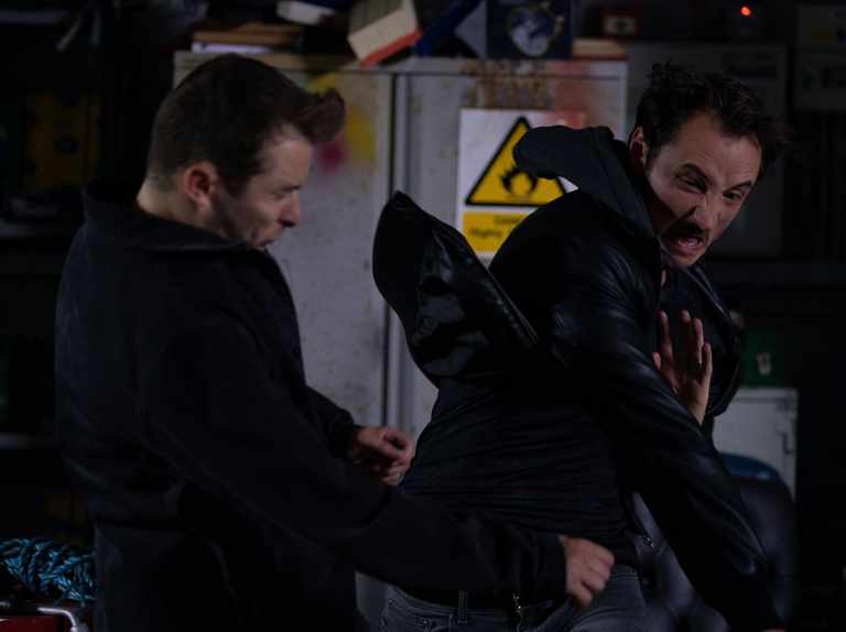 Martin punches Ben - first look at EastEnders showdown