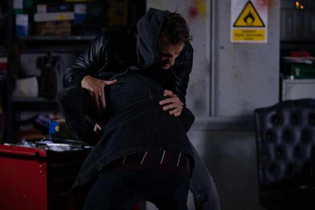 eastenders ben mitchell martin fowler fight