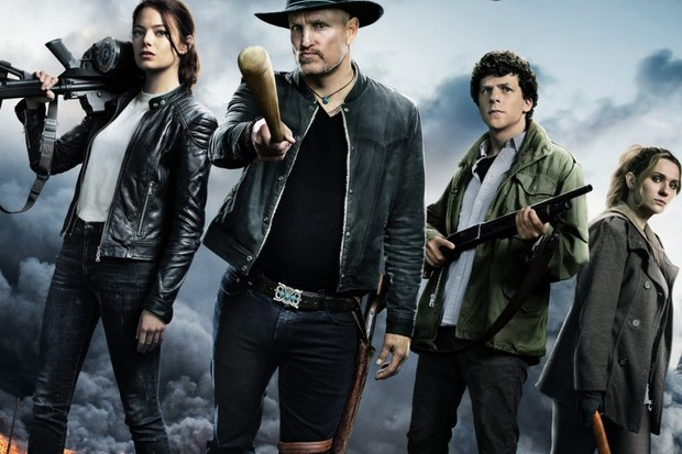 The cast of Zombieland: Double Tap (Sony)