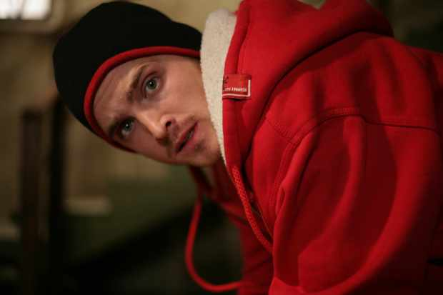 Aaron Paul as Jesse in Breaking Bad