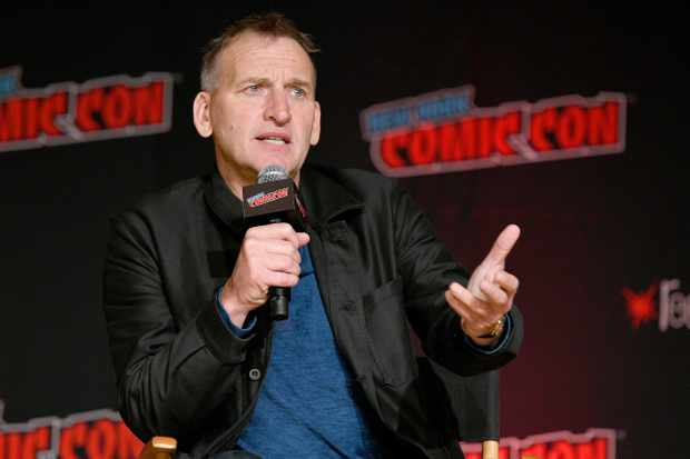 Christopher Eccleston at NYCC
