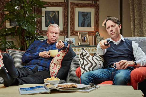 Gogglebox – Reece Shearsmith and Steve Pemberton