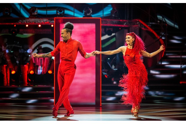 Dev Griffin and Dianne Buswell on Strictly Come Dancing