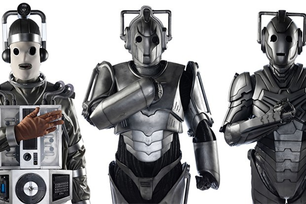Various versions of the Cybermen (BBC)