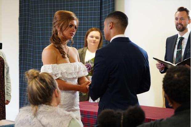 Tiff Keegan wedding