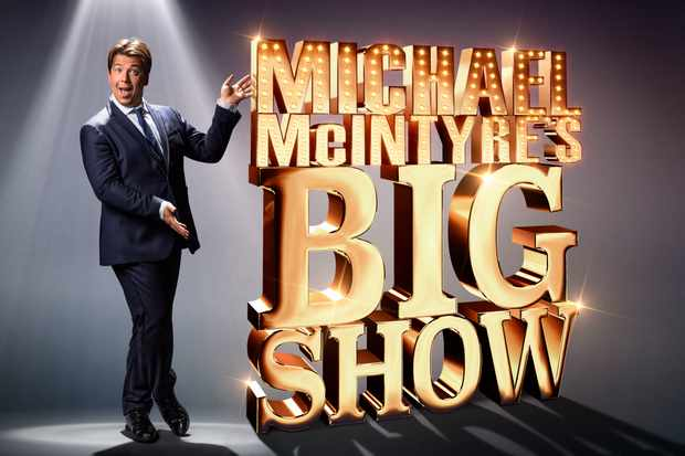 WARNING: Embargoed for publication until 00:00:01 on 19/11/2019 - Programme Name: Michael McIntyre's Big Show S5 - TX: n/a - Episode: Michael McIntyre's Big Show S5 - Iconic (No. n/a) - Picture Shows: ***Embargoed till 19th November *** Michael McIntyre - (C) Hungry Bear - Photographer: Gary Moyes