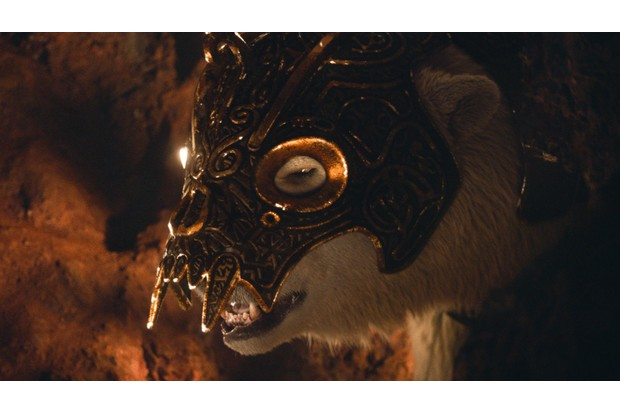 WARNING: Embargoed for publication until 00:00:01 on 19/11/2019 - Programme Name: His Dark Materials - TX: n/a - Episode: n/a (No. 4) - Picture Shows: Iofur - (C) Bad Wolf - Photographer: screen grabs