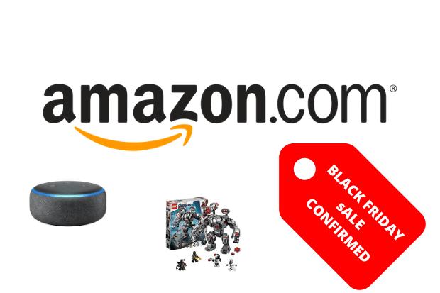Amazon black Friday confirmed