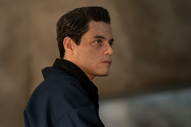 B25_25403_RCSafin (Rami Malek) in NO TIME TO DIE, a DANJAQ and Metro Goldwyn Mayer Pictures film. Credit: Nicola Dove © 2019 DANJAQ, LLC AND MGM. ALL RIGHTS RESERVED.