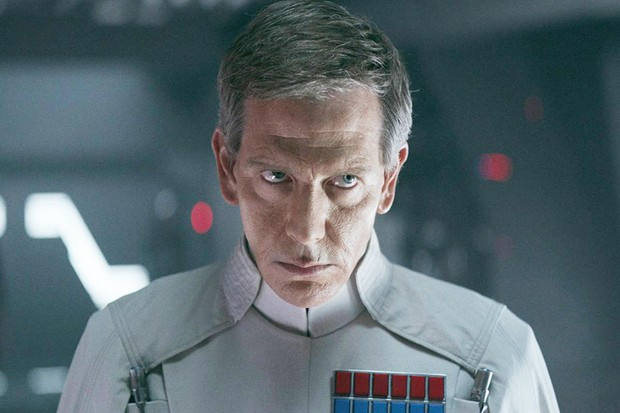 Ben Mendelsohn as Director Krennic in Rogue One (Disney)