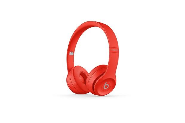 Beats Solo 3 Wireless headphones RED