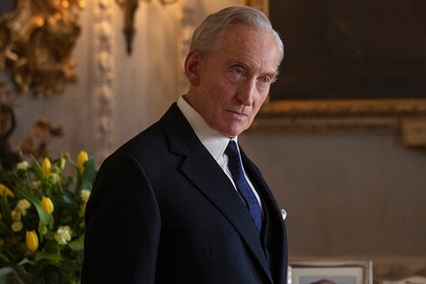 Charles Dance plays Lord Mountbatten in The Crown