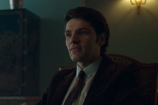 Colin Morgan plays journalist John Armstrong in The Crown season 3