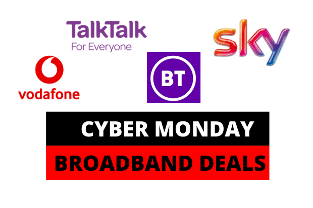 Cyber Monday Broadband deals