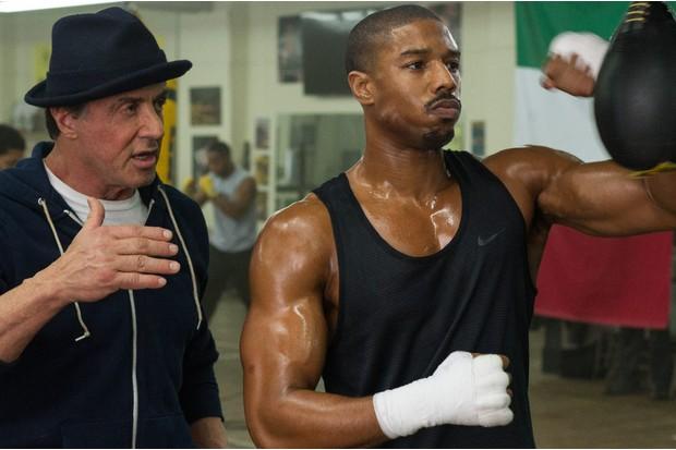 Adonis Creed-MICHAEL B. JORDAN; Rocky Balboa-SYLVESTER STALLONE