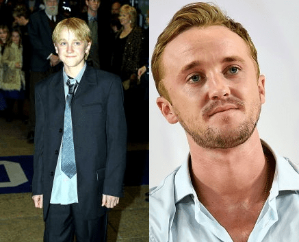 Draco Malfoy Before and After