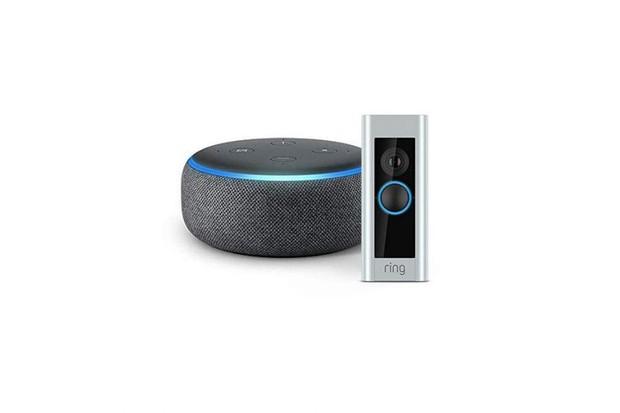 Echo Dot and Video Doorbell, SaleStartsNow