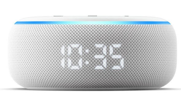 Echo Dot with Clock, Daily Express