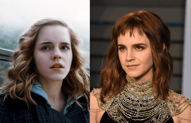 Emma Watson Before and After