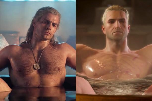 Will Geralt S Bathtub Scene Be In The Witcher Trailer