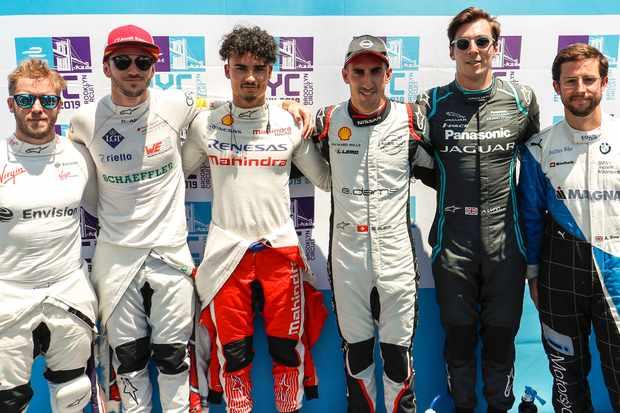 Formula E drivers